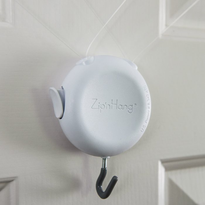 ZipnHang over the door hook with the standard hook