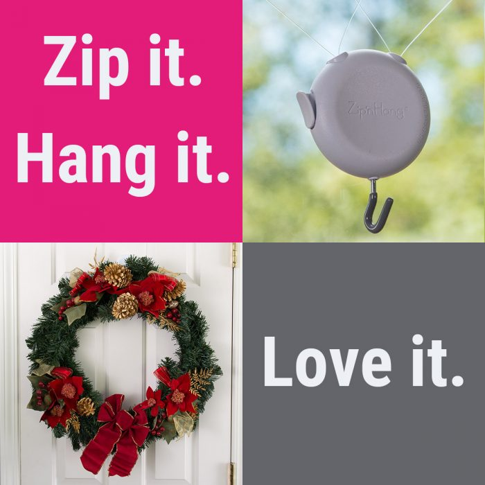 ZipnHang collage - Zip it. Hang it. Love it.